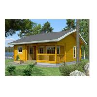 Solid Summer Outdoor Wooden House 2-Bedroom Waterproof With Base Timber & Roofing Manufactures