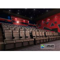 4D Cinema 4D Movie Theatre Equipment With Motion Chair 3 / 4 / 5 Seats A Set Manufactures
