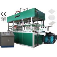 China Disposable Fast Food Container / Paper Thermoforming Plate Making Machine 7000Pcs / H on sale
