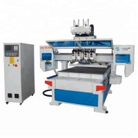 Automatic 3d Wood Cnc Machine For Cutting Plywood 4*8ft Cnc Router 1325 Manufactures