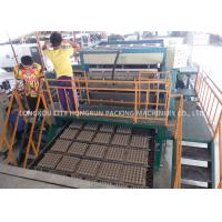Energy Saving Automatic Egg Tray Forming Machine / Pulp Tray Making Machine Manufactures