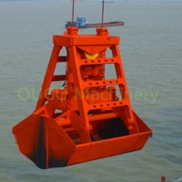 Wear Resistant Materials CE Remote Control Grab Buckets Manufactures