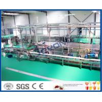 China High Efficiency Fruit Juice Processing Line Process Beverage Sterilizing Tunnel on sale