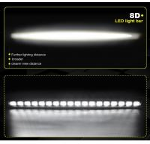 Quality Manufacturer Supply 8D 180w led light bars roof mount brackets, waterproof cree led light bar for sale