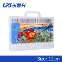 36 Colors Twist Up Crayons Long 170mm Children Paint Crayons In PP Box Manufactures