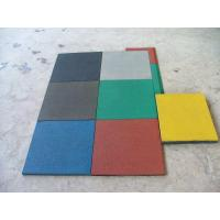 Quality Outdoor Safety Play Mats , Rubber Safety Mats Outdoor Antislip for sale