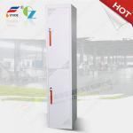 Two steel door cabinetsteellocker FYD-G002,CRS 0.7 mm thickness material,KD structure Manufactures