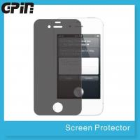 2 way Privacy screen protector for iPhone 4s,anti spy privacy filter Manufactures