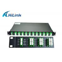 Optics 40 Channel DWDM Mux Demux AAWG Modules 100Ghz C21-C60 For Data Center Manufactures