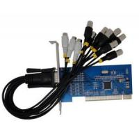High Resolution CCTV DVR Card with 8-Channels Video Input and 4-Channels Audio Input (WVC108) Manufactures