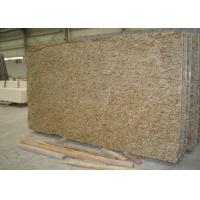Quality Household Ornamental Gold Granite Stone Slabs Natural Granite Tiles Flooring for sale