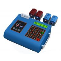 RS485 Potable Ultrasonic Flow Meter With Printer Transducer Mounting Bracket Manufactures