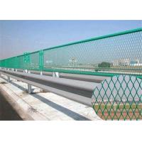 China Plastic Coated Expanded Metal Mesh Fence For Highway Protection System for sale
