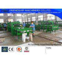 Simple And Cheap Discontinous Type PU Sandwich Panel Production Line Manufactures