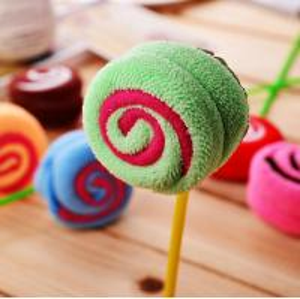 colorful cotton lollipop shape cake towel candy towel Manufactures