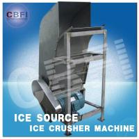 Water Proof Crushed Ice Maker Machine / Industrial Ice Crusher Machine Energy Saving Manufactures