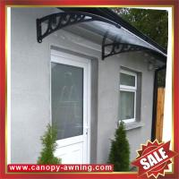 excellent porch window door polycarbonate pc diy awning canopy canopies shelter for cottage house building garden home Manufactures
