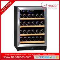 China 54-Bottle Dual Zone Wine Cooler Built-In with Compressor Stainless Steel Doors on sale