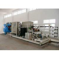 Easy Operation Seawater Desalination Machine Low Energy Consumption Manufactures