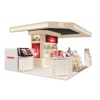 Beautiful Modern Cosmetic Display Case / Makeup Display Shelves Cream Coating Color Manufactures