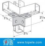 Steel Plate Galvanized Strut Channel Connecting Fitting Unistrut Channel Splice