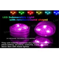 Small Submersible water activated Led Floating Tea Lights Ultra Brightness Manufactures