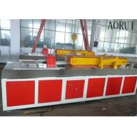 China Faux Kitchen Plastic Profile Machinery Decorative Wood Plastic Production Line on sale
