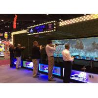 Interactive Projector Screen 9D VR Machine , Virtual Shooting Simulator For Park Manufactures