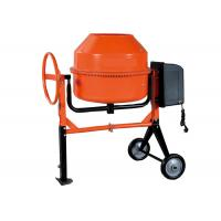 230L Motor concrete mixer for construction 1KW 28 small volume , high eficiency Manufactures