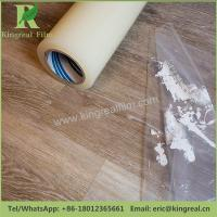 Temporary Protection Colors and Adhesive Customizable Anti Dust PE Floor Protective Film Manufactures