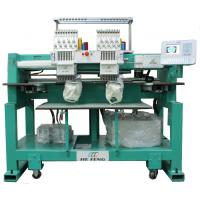 China Two Heads Cap Embroidery Machine , 110V / 220V With Servo Motor on sale