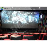 4D Ride Simulator Electronic System 4D Movie Theater With All Special Effects Manufactures