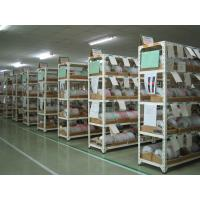 Light Duty Rivet Boltless Steel Shelving  , Warehouse Racking System Manufactures
