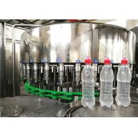 Rotary 3 In 1 Full Automatic Water Bottle Filling Machine Wih Suction Cap Manufactures