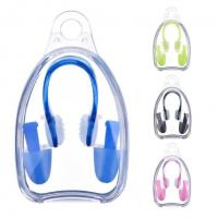 Flexible Silicone Ear Plugs For Swimming , Nose Ear Protection For Swimming Adults Manufactures