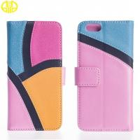 Newest Design Iphone 6 Cell Phone Protective Cases Leather Case Customerized Manufactures