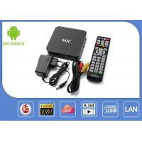 Multilateral Language Android Smart Iptv Box / Google Android Box For TV Internet Manufactures