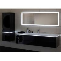 Modern Waterproof Illuminated Bathroom Mirrors Wide Operating Temperatures Manufactures