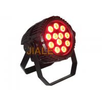 12 x 10w RGBWA 5 in 1 Waterproof Outdoor LED Par Lights with Aluminum Alloy Material Manufactures