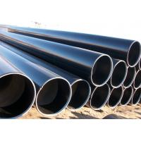 API 5L GR.B 52 X 65 Welded Steel Pipe , Black / Galvanised Steel Pipes For Construction Manufactures