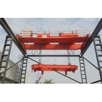 Double Beam Travelling Overhead Crane With Double Trolleys For Mining Industries Manufactures