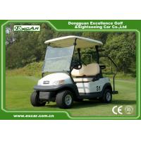 China White Color 48V Battery Operated Golf Cart Small Size Two Seats on sale