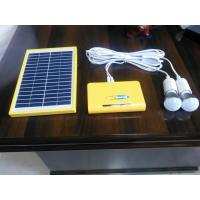 Home Solar Panel Light Kit  Solar Camping Light Kit 12 Hours AC Charging Time Manufactures