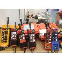 Industrial Crane Spare Parts / Wireless Radio Remote Control Systems For Mining Manufactures