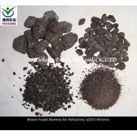 Brown Fused Alumina with high purity for the  material of  blast furnace \ hot air furnace series combination brick Manufactures