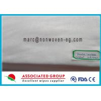 China Anti Static Spunlace Non Woven Fabric Cloth Wet Wipes Fire Retardant on sale