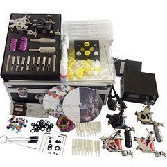 Tattoo Kit 6 Gun Machine with Power Supply Equipment Set Manufactures