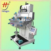 CE Approved Chinese HS-600PN Precise Flatbed Semi-automatic Screen Printer for Ruler
