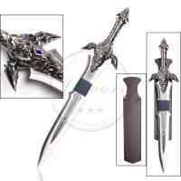 China 42 video game replica sword warcraft lothar 440 stainless steel sword on sale