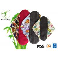 Red / Black Waterproof Changing Pad Anti Bacterial Charcoal Bamboo Founded Manufactures